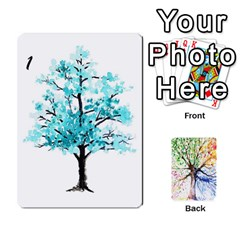 Arboretum Back2 Decka X2 By Fccdad   Playing Cards 54 Designs   Pido48227y9y   Www Artscow Com Front - Heart5