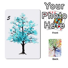 Arboretum Back2 Decka X2 By Fccdad   Playing Cards 54 Designs   Pido48227y9y   Www Artscow Com Front - Heart9