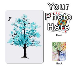 Queen Arboretum Back2 Decka X2 By Fccdad   Playing Cards 54 Designs   Pido48227y9y   Www Artscow Com Front - HeartQ