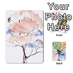 Arboretum Back2 Decka X2 By Fccdad   Playing Cards 54 Designs   Pido48227y9y   Www Artscow Com Front - Diamond5