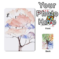 Arboretum Back2 Decka X2 By Fccdad   Playing Cards 54 Designs   Pido48227y9y   Www Artscow Com Front - Diamond7