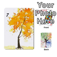 Ace Arboretum Back2 Decka X2 By Fccdad   Playing Cards 54 Designs   Pido48227y9y   Www Artscow Com Front - DiamondA