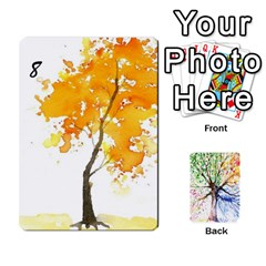 Arboretum Back2 Decka X2 By Fccdad   Playing Cards 54 Designs   Pido48227y9y   Www Artscow Com Front - Club2