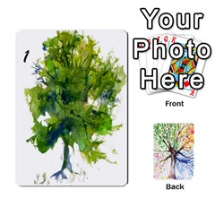Arboretum Back2 Decka X2 By Fccdad   Playing Cards 54 Designs   Pido48227y9y   Www Artscow Com Front - Club3