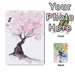 Queen Arboretum Back2 Decka X2 By Fccdad   Playing Cards 54 Designs   Pido48227y9y   Www Artscow Com Front - ClubQ