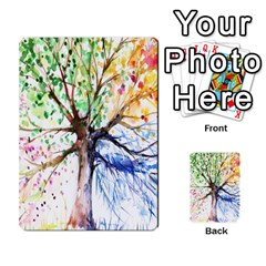 Arboretum Back2 Decka X2 By Fccdad   Playing Cards 54 Designs   Pido48227y9y   Www Artscow Com Back