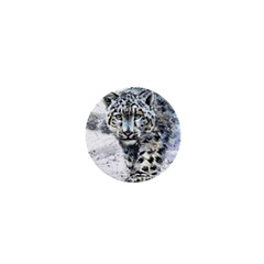 Snow Leopard 1  Mini Buttons by kostart