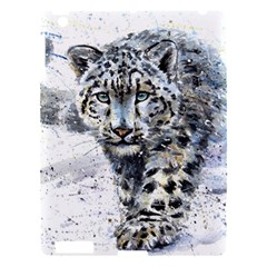 Snow Leopard Apple Ipad 3/4 Hardshell Case by kostart