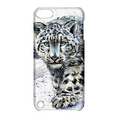 Snow Leopard Apple Ipod Touch 5 Hardshell Case With Stand by kostart