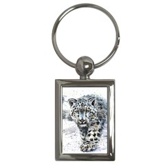 Snow Leopard  Key Chains (rectangle)  by kostart