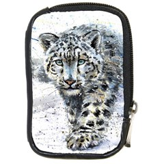 Snow Leopard  Compact Camera Cases by kostart