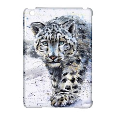 Snow Leopard  Apple Ipad Mini Hardshell Case (compatible With Smart Cover) by kostart