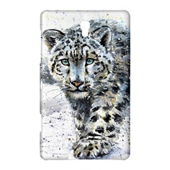 Snow Leopard  Samsung Galaxy Tab S (8 4 ) Hardshell Case  by kostart
