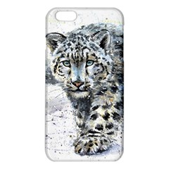 Snow Leopard  Iphone 6 Plus/6s Plus Tpu Case by kostart