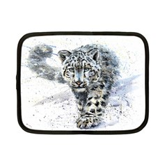 Snow Leopard  Netbook Case (small)  by kostart