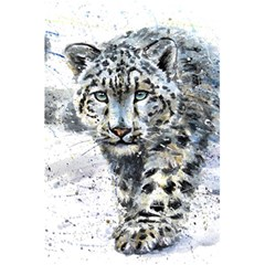 Snow Leopard  5 5  X 8 5  Notebooks by kostart