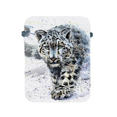 Snow Leopard  Apple Ipad 2/3/4 Protective Soft Cases by kostart