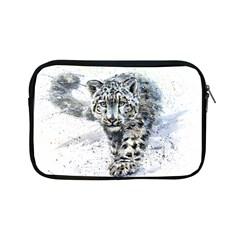 Snow Leopard  Apple Ipad Mini Zipper Cases by kostart