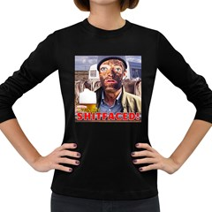 Let s Get Shitfaced! Women s Long Sleeve Dark T Shirts by RakeClag