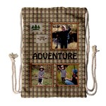 Adventure Camping - Drawstring Bag (Large)