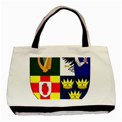 Arms Of Four Provinces Of Ireland  Basic Tote Bag (two Sides) by abbeyz71