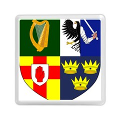 Arms Of Four Provinces Of Ireland  Memory Card Reader (square)  by abbeyz71