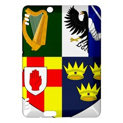 Arms Of Four Provinces Of Ireland  Kindle Fire Hdx Hardshell Case by abbeyz71