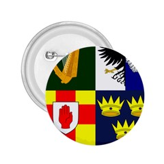 Arms Of Four Provinces Of Ireland  2 25  Buttons by abbeyz71