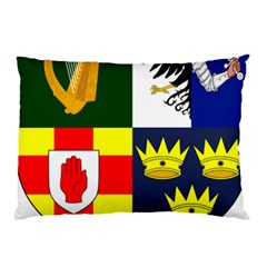 Arms Of Four Provinces Of Ireland  Pillow Case by abbeyz71