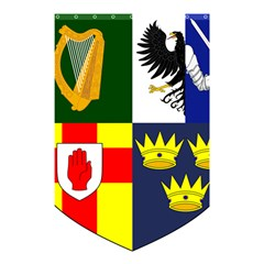 Arms Of Four Provinces Of Ireland  Shower Curtain 48  X 72  (small)  by abbeyz71