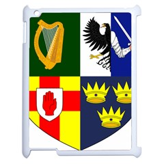Arms Of Four Provinces Of Ireland  Apple Ipad 2 Case (white) by abbeyz71