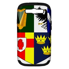 Arms Of Four Provinces Of Ireland  Samsung Galaxy S Iii Hardshell Case (pc+silicone) by abbeyz71