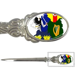 Flag Map Of Provinces Of Ireland Letter Openers by abbeyz71
