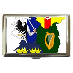 Flag Map Of Provinces Of Ireland  Cigarette Money Cases by abbeyz71