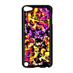 Purple Yellow Flower Plant Apple Ipod Touch 5 Case (black) by Costasonlineshop