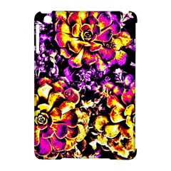 Purple Yellow Flower Plant Apple Ipad Mini Hardshell Case (compatible With Smart Cover) by Costasonlineshop