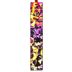 Purple Yellow Flower Plant Large Book Marks by Costasonlineshop