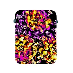 Purple Yellow Flower Plant Apple Ipad 2/3/4 Protective Soft Cases