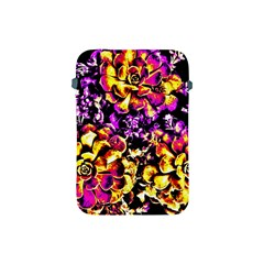 Purple Yellow Flower Plant Apple Ipad Mini Protective Soft Cases by Costasonlineshop