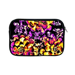 Purple Yellow Flower Plant Apple Ipad Mini Zipper Cases by Costasonlineshop