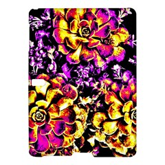 Purple Yellow Flower Plant Samsung Galaxy Tab S (10 5 ) Hardshell Case  by Costasonlineshop
