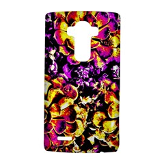 Purple Yellow Flower Plant Lg G4 Hardshell Case by Costasonlineshop