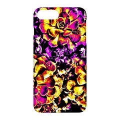 Purple Yellow Flower Plant Apple Iphone 7 Plus Hardshell Case