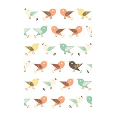 Assorted Birds Pattern Shower Curtain 48  X 72  (small)  by linceazul