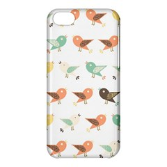 Assorted Birds Pattern Apple Iphone 5c Hardshell Case by linceazul
