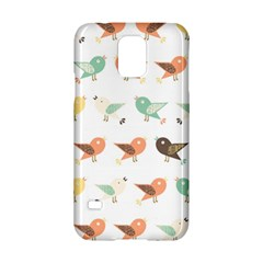 Assorted Birds Pattern Samsung Galaxy S5 Hardshell Case  by linceazul