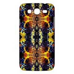 Mystic Yellow Blue Ornament Pattern Samsung Galaxy Mega 5 8 I9152 Hardshell Case