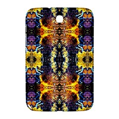 Mystic Yellow Blue Ornament Pattern Samsung Galaxy Note 8 0 N5100 Hardshell Case