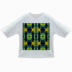 Mystic Yellow Green Ornament Pattern Infant/toddler T Shirts