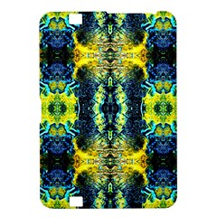 Mystic Yellow Green Ornament Pattern Kindle Fire Hd 8 9